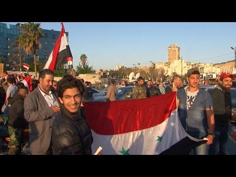 Syria: People Celebrate Downing of 'Invincible American Tomahawks'