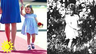 Brittiska lill-prinsessan ser precis ut som drottning Elizabeth! - Nyhetsmorgon (TV4)