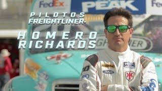 Pilotos Freightliner- Homero Richards