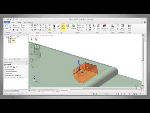 DesignSpark Mechanical - Basics - 5 - The Move Tool - Full tutorial