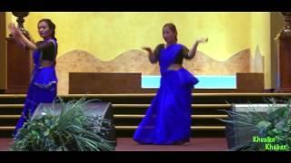 Nepali christian dance by Sarah and Kausila Nilo Akash Seto badal