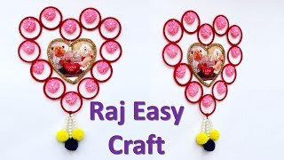 Best out of waste old bangles craft idea || waste material ruse idea  || easy art and craft