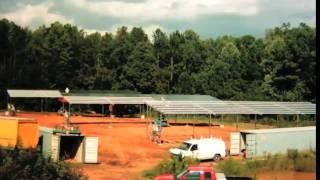 Piedmont Biofuels Solar Time Lapse