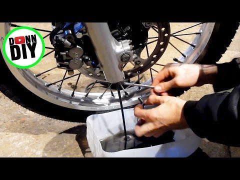 Fork Oil Change - Honda Transalp XL600V