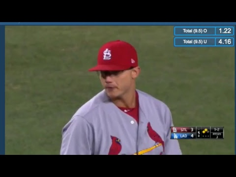 St. Louis Cardinals vs. Los Angeles Dodgers (MLB LIVE 05/25/2017)