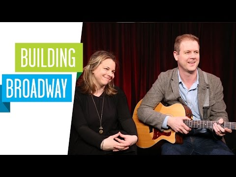 Building Broadway: COME FROM AWAY songwriters David Hein and Irene Sankoff