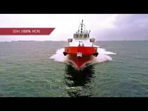 40m Fast crew Boat