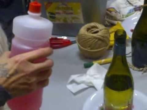 come si rompe una bottiglia di vetro - youtube