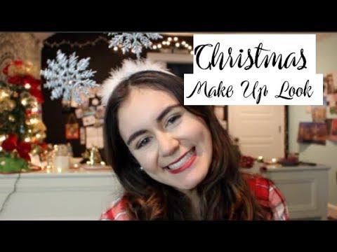 christmas make up look | Barbara Mills