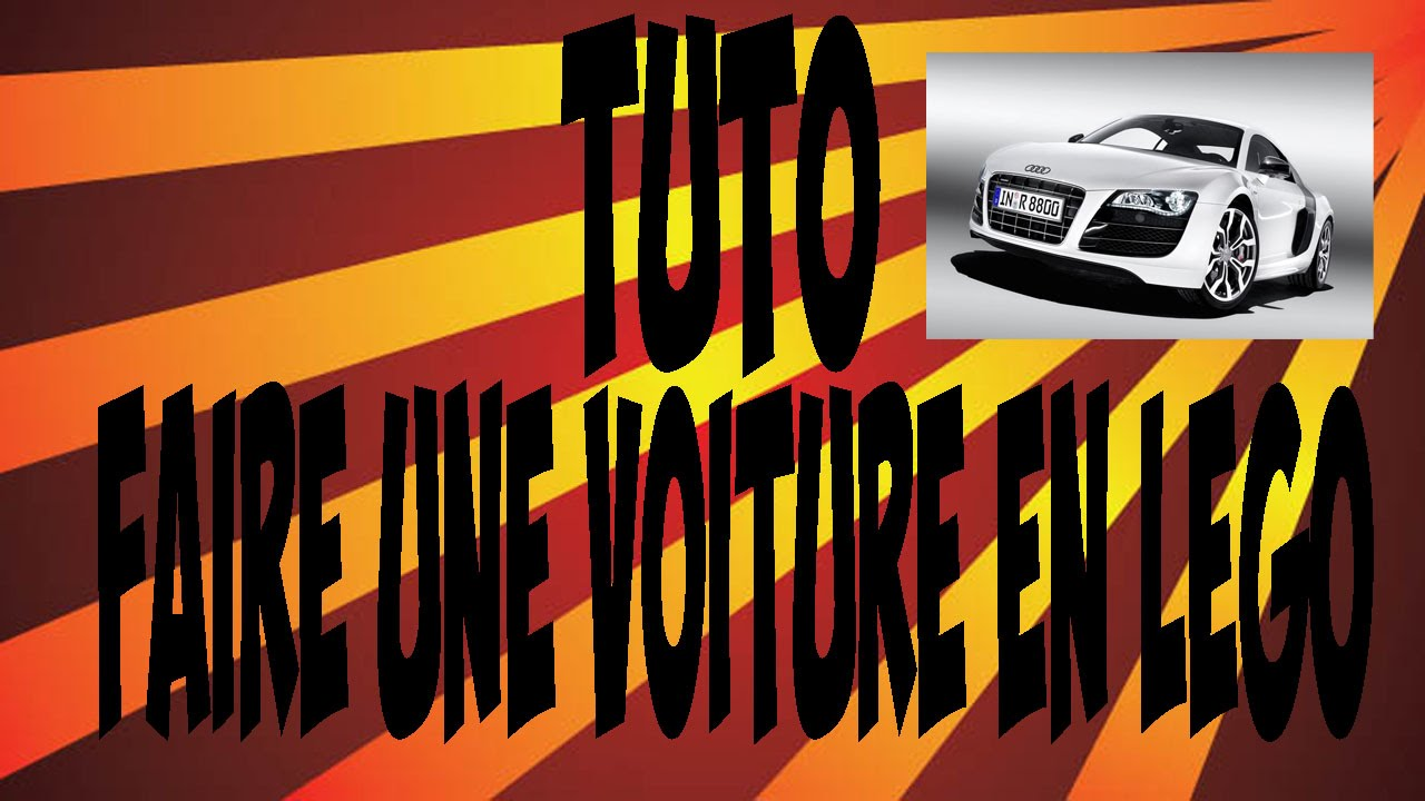 Tuto comment faire une voiture en lego youtube - Comment faire une ville lego city ...