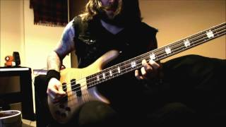 Jason Newsted Cunning Stunts Bass Solo Cover 2015 With Tab