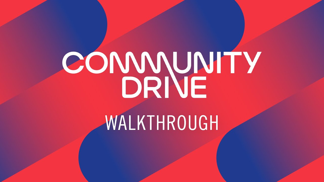 COMMUNITY DRIVE Walkthrough | Native Instruments