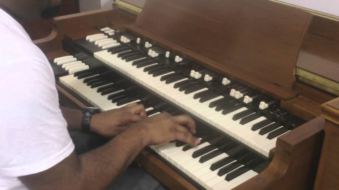 Hammond B2 Demonstration By Devin Watkins