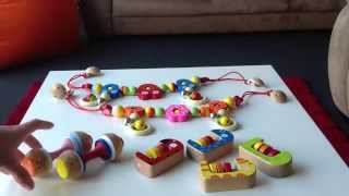 Toy Showcase 4: Squeaky Rattle, Pram Clips, Abacus Rattle