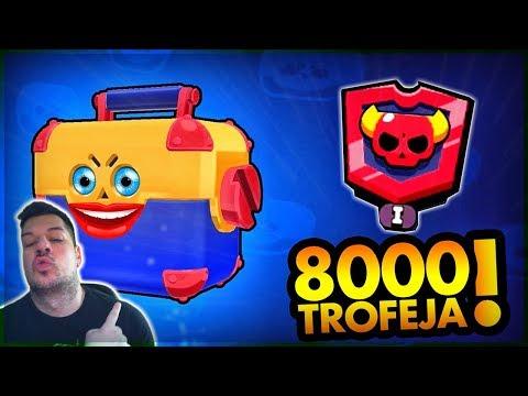 BESPLATAN MEGA BOX VREDAN 8000 🏆! | Brawl Stars