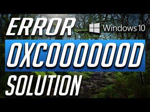 How to Fix Error Code 0xc000000d on Windows 10!