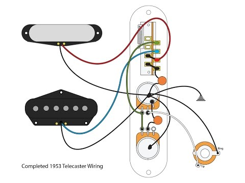 "53 ""Blackguard"" Tele Wiring Scheme"