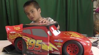 Toy Review -  Fun Kids Toy Unboxing Disney Pixar Cars 3 Ligthning McQueen Toys For Kids