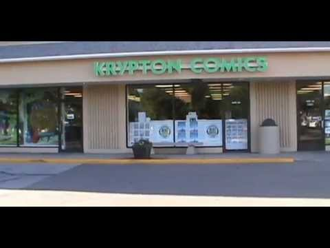 Krypton Comics Omaha NE Video Tour 2014