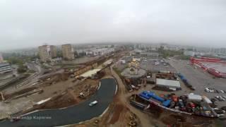 Реконструкция Московского шоссе / пр. Кирова / сентябрь 2016 #Samara