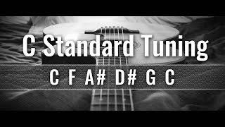 C Standard Guitar Tuner (CFA#D#GC)