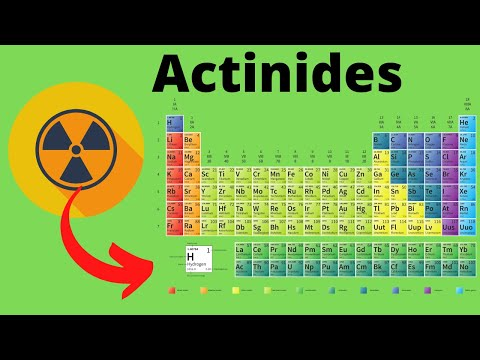 Period 7 Elements ( Actinide Transition Metals )