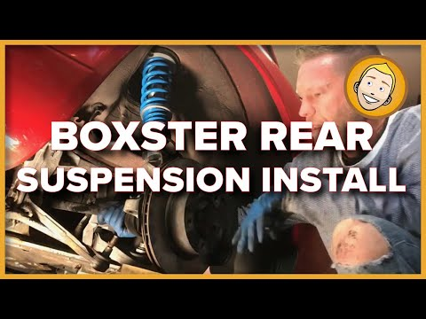 How to replace suspension in Porsche Boxster 986 DIY (REAR)