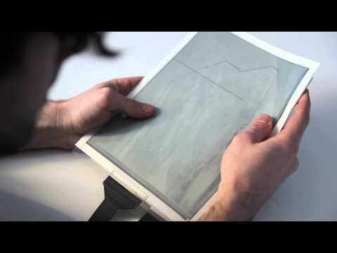 PaperTab: Revolutionary paper tablet reveals future tablets to be thin and flexible as paper.