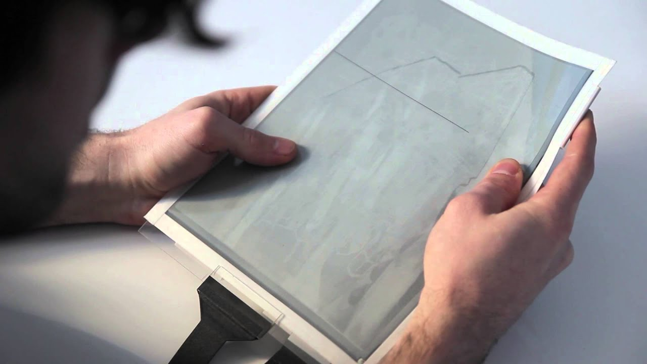 Papertab Revolutionary Paper Tablet Reveals Future