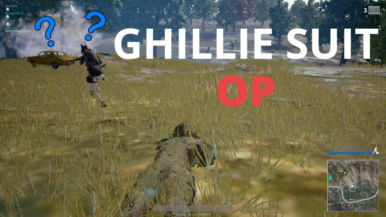 Pubg Wallpaper Ghillie Suit: GHILLIE SUIT OP!!!