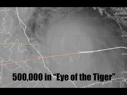"Half a Million people in eye of Hurricane - Rogue Wave/Clearwater Beach - ""SuperFireStorm""/BC"