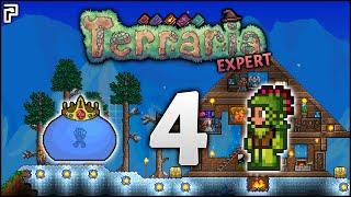 Jungle Mage Gear & The FIRST Terraria Boss! | EXPERT Mage Playthrough (Let's Play Terraria 1.3.5)