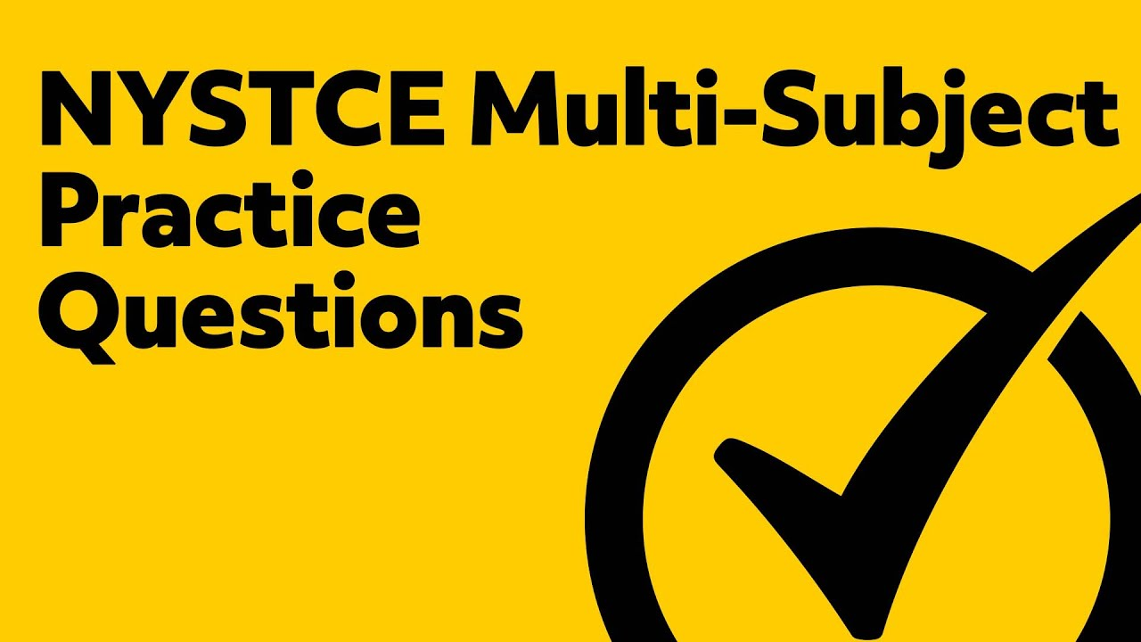 Nystce Multi Subject 02 Practice Test Free Youtube