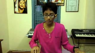 new telugu song gundello edo sadi from golimaar on keyboard by k.sai teja