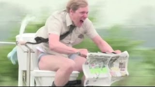 Maker madness: Guinness World Record Speed Demon Colin Furze - BBC News