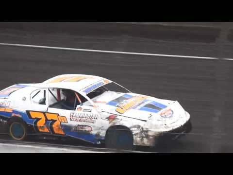 IMCA Stock Car Heats Benton County Speedway 8/28/16