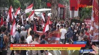 Demo di KPK Ricuh, Massa Dukung Siapa? - JPNN.com