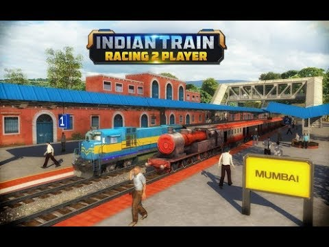 Indian Train Racing Games 3D android game first look gameplay español