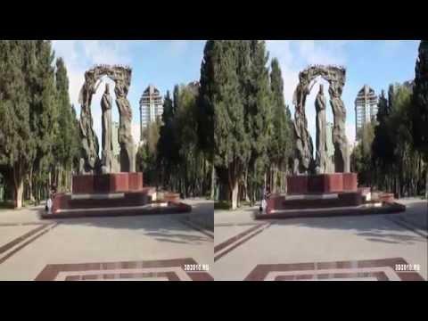 Город Баку в формате 3Д