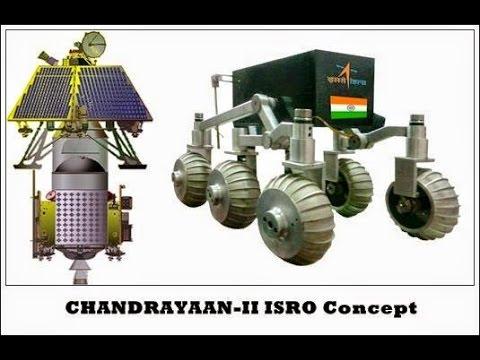 Chandrayaan II  Moon Mission of India, ISRO