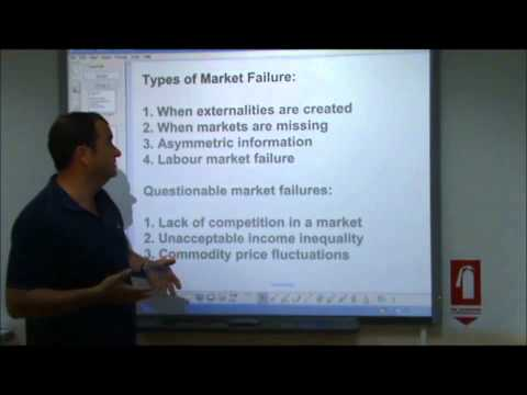 AS-Level Economics Video 16 - An Introduction To Market Failure