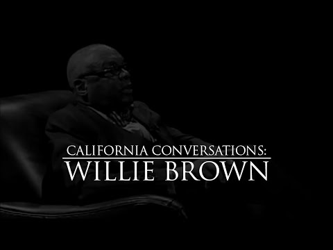California Conversations with Willie Brown