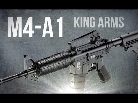 M4-A1 King Arms - fucile d'assalto (softair)