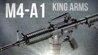 m4 a1 king arms fucile d assalto softair