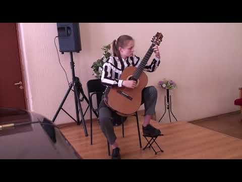 F.Sor variations on the theme of Mozart from the opera The Magic Flute играет Пилипенко Александра
