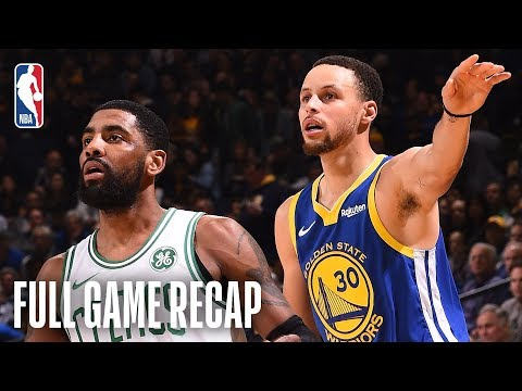 CELTICS vs WARRIORS | Kyrie Irving & Gordon Hayward Lead Boston In The Bay  | March 5, 2019
