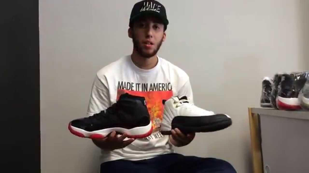 detailed look d971b 43ee2 Jordan Countdown Pack 11 12 CDP Sneaker Review