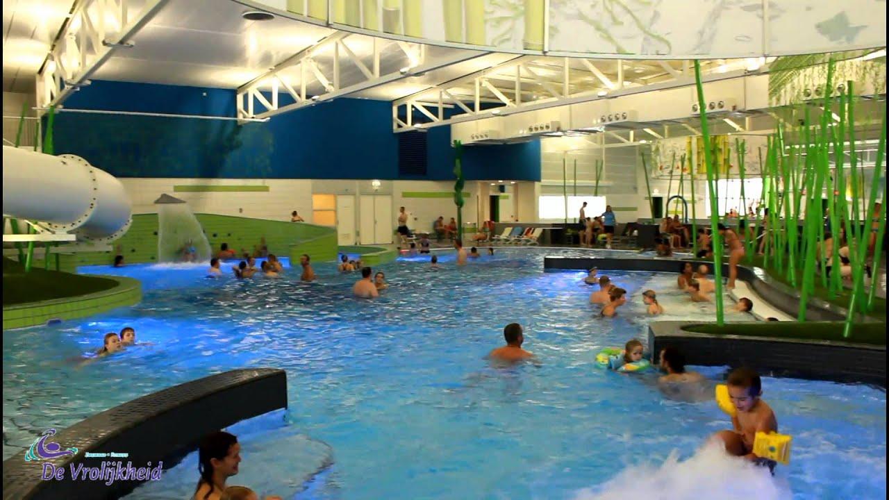 nieuw zwembad de vrolijkheid in zwolle youtube