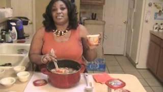 Creamy Santa Fe Chicken Soup.wmv