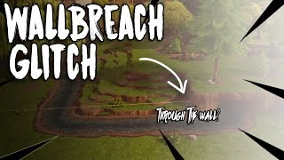 *NEW* FORTNITE WALLBREACH AT FATAL FIELDS| GLITCH